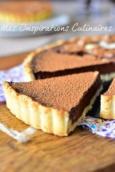Tarte au Chocolat / Chocolate tart