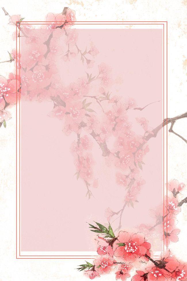 Einfache Kunst der Blumen-Hintergrundplakate – #Bl…