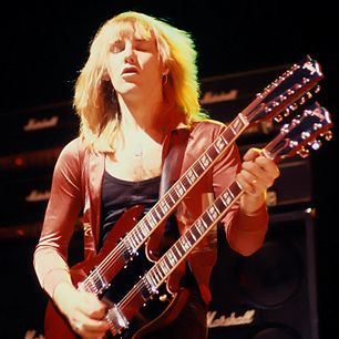 """Alex Lifeson - Even if he had never progressed beyond the brain-rattling riffing of """"2112""""/""""Xanadu,"""" Rush's guitarist would have left his mark on Metallica. He went on to fill out Rush's power-trio with a seamless mix of lush arpeggios/rock crunch that sounded like two players at once. """"The guitar just had to make a broader statement,"""" he says. Alex Lifeson reserves his most daring playing for his solos – just try wrapping your head around the extraterrestrial lunacy of """"Freewill."""""""