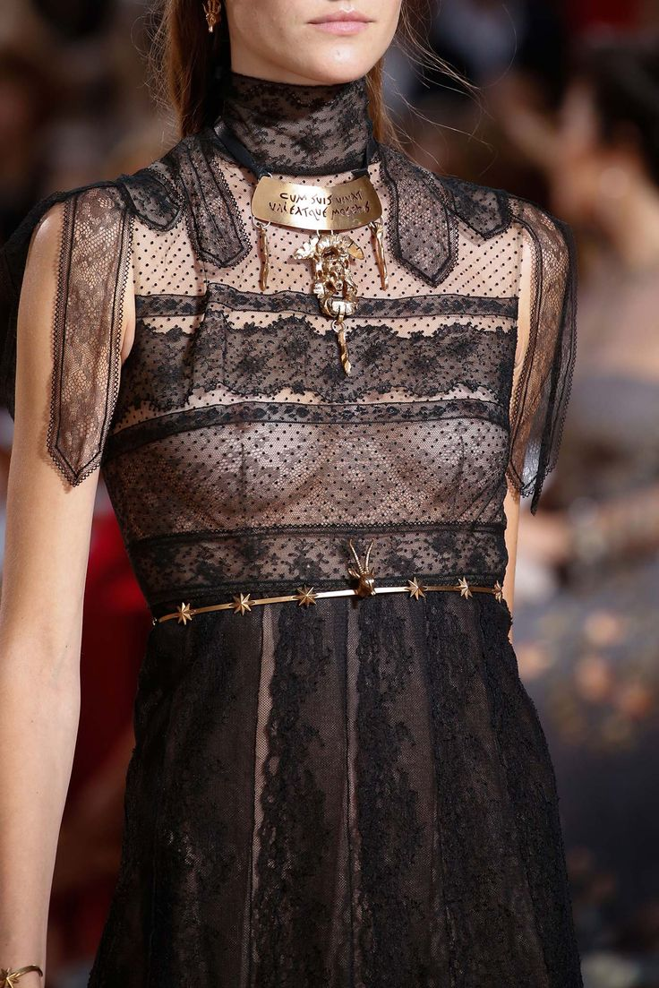 Valentino Fall 2015 Couture - Details - Gallery - Style.com lace
