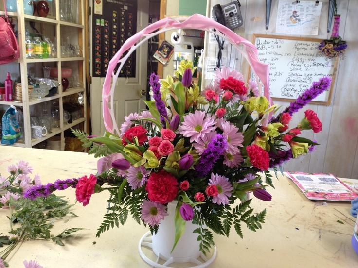 Sympathy Flower Baskets Delivery : Best images about sympathy floral arrangements on