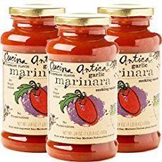 Homemade Marinara Sauce Recipe with Basil