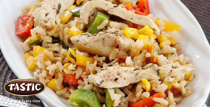 Chicken and rice chow-chow recipe that the whole family will enjoy! Full recipe here http://bit.ly/ZzfSNn