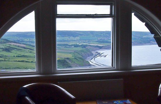 half moon or half circle windows | our half moon window and view - Picture of Ravenscar, North Yorkshire ...
