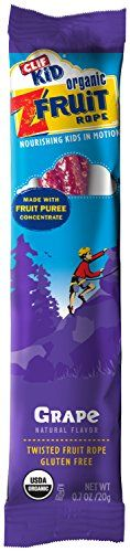 CLIF KID ZFRUIT - Organic Fruit Rope - Grape - (0.7 oz, 18 Count) -- Check out the image by visiting the link.  This link participates in Amazon Service LLC Associates Program, a program designed to let participant earn advertising fees by advertising and linking to Amazon.com.