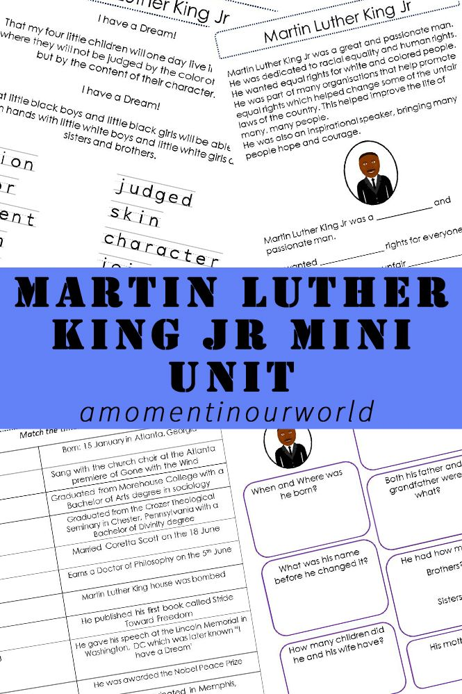 Martin Luther King Jr was born on the 15th January 1929. During his lifetime, he held many positions including an American Baptist minister, activist, humanitarian and was a leader in the African-American Civil Rights Movement. He is known as being one of the most important voices in the American Civil Rights movement and was assassinated on the …