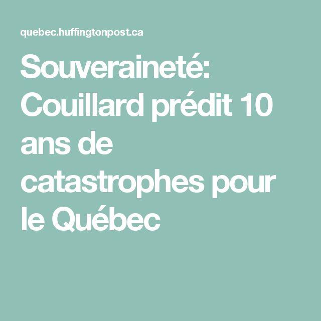 Souveraineté: Couillard prédit 10 ans de catastrophes pour le Québec