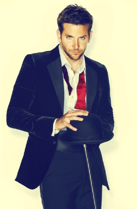 Bradley Cooper; I heard him speak a lil french & it made him 100x sexier