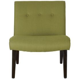 Safavieh Mercer Green Accent Chair Mcr4552c