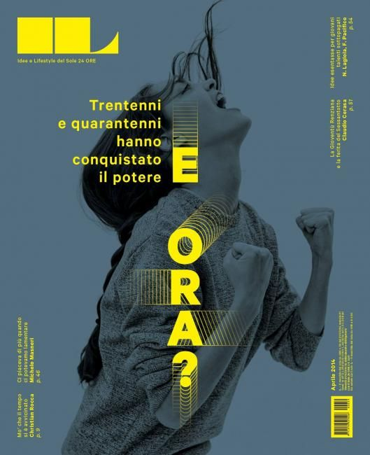 IL (Italy) on of the most beautifully designed magazines out there.