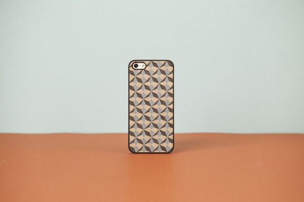 Wood'd Cover iPhone - Stars and Stones -
