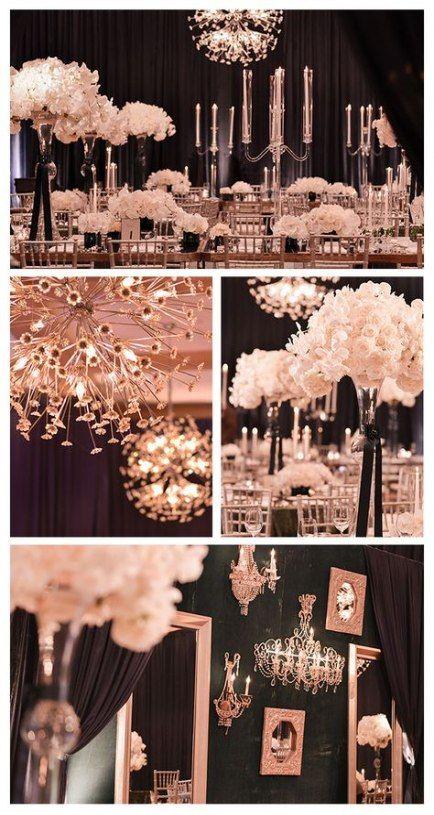 64+ Ideas for vintage wedding backdrop ideas rose gold #wedding #vintagewedding