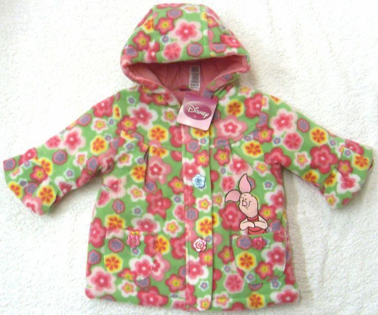 Girls Coat Hooded PIGLET