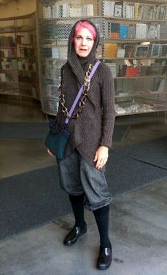 Find Plus fours and see if they fit/can be reworked ADVANCED STYLE: Museum Visitors Have Advanced Style