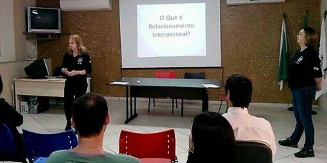 Capacitação de policiais da 12 SDP - relacionamento interpessoal   - http://projac.com.br/noticias/capacitacao-de-policiais-da-12-sdp-relacionamento-interpessoal.html