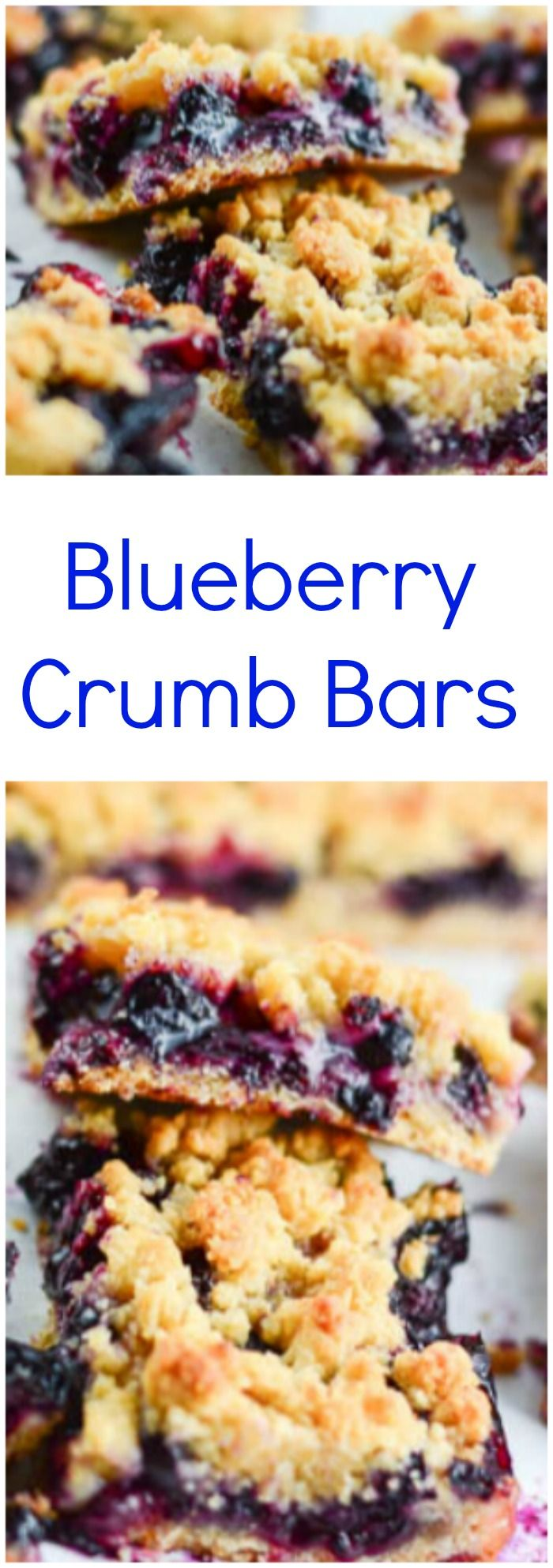 Blueberry Crumb Bars | Recipe | Blueberries, Bar and ...