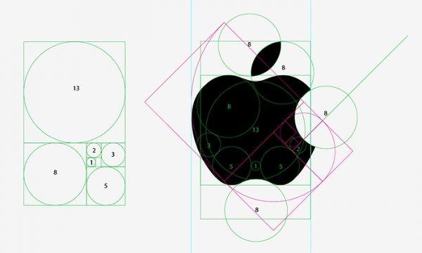 Logo design for Apple