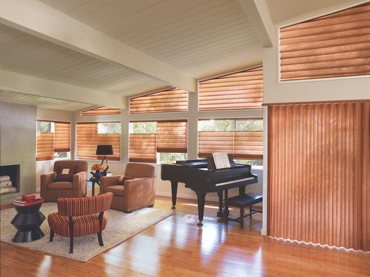 Hunter Douglas Vignette Traversed With Vertiglide Shades Was Named 2011 WCMA Product Of The Year