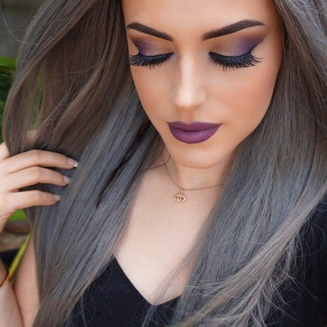 Maya Mia ♌️ @maya_mia_y Purple ☔️...…………...Instagram photo | Websta (Webstagram). | Love Maya Mia youtube channel. Check out her makeup tutorials |