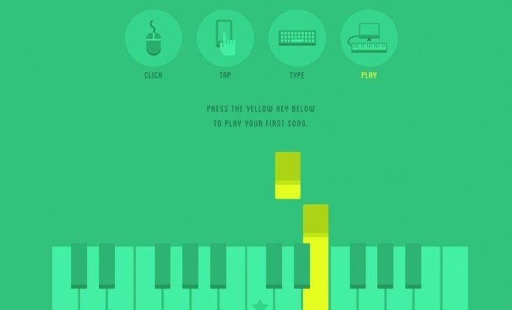 Sabías que Pianu, una web para aprender a tocar el piano