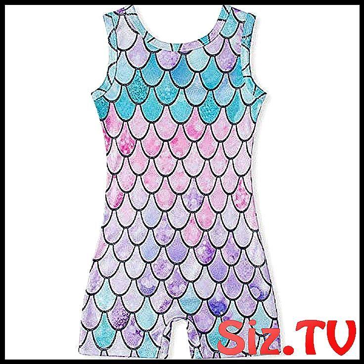 Loveablely M/ädchen Kinder Turnanzug Gymnastikanzug /Ärmellos Funkeln Farbverlauf Trikot Leotard
