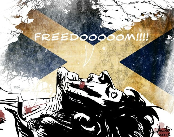 William Wallace, Braveheart by Antonio Palumbo  #freedom #braveheart #williamwallace #scotland