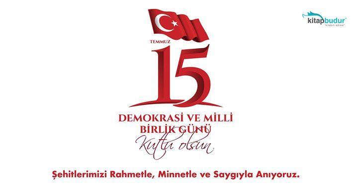 Demokrasi ve Milli Birlik Günü Kutlu Olsun. Şehitlerimiz Rahmetle Minnetle ve Saygıyla Anıyoruz. #15Temmuz