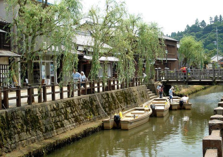 「北総の小江戸」として有名な佐原。昔の面影が残る美しい町並みです。