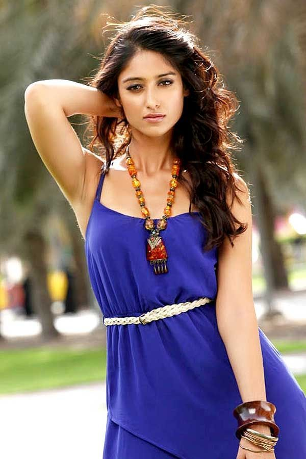 Ileana d cruz blue dress 7755