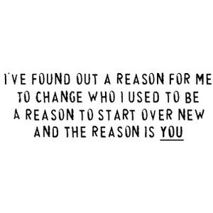 The Reason ~ song quotes ~ Hoobastank