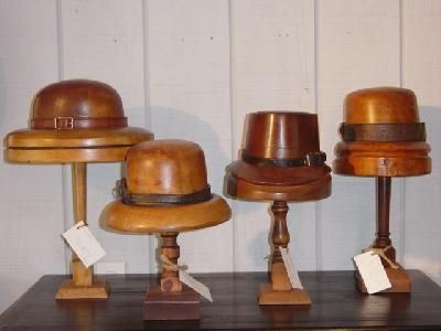 English Hat Molds-CRT10087123 For Sale   Antiques.com   Classifieds