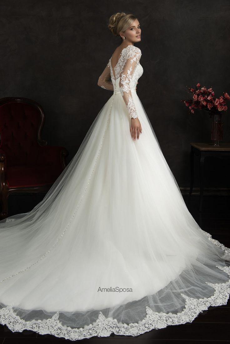 93 best Brautkleid images on Pinterest | Gown wedding, Wedding ...