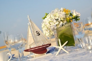 Boat table numbers