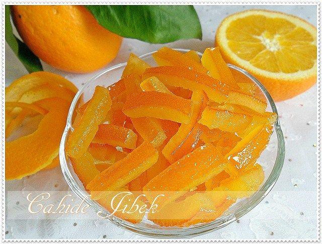 portakal kabuğu şekeri
