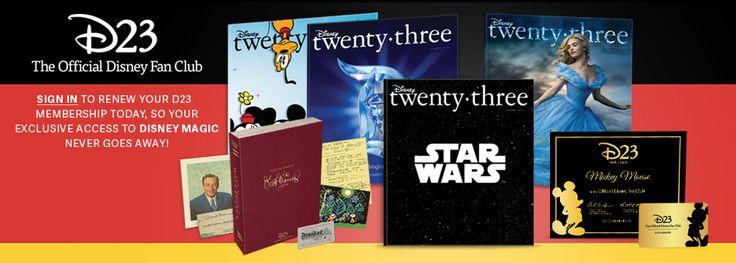 D23 The Official Disney Fan Club - Unlock the Magic!