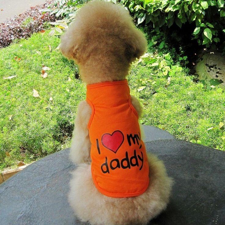 Best Friends World - I Love Daddy Dog Tee, €10.00 (http://www.bestfriendsworld.ie/i-love-daddy-dog-tee/)