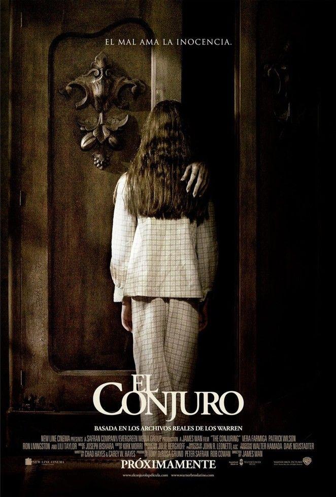 """La película """"El Conjuro"""" se estrena el viernes 23 de agosto. La historia del film fue un hecho de la vida real, misma que se mantuvo en secreto por mucho tiempo. http://www.linio.com.mx/libros-y-musica/terror/"""