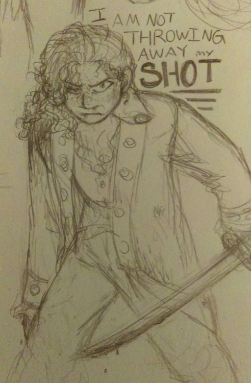 I definitely don't draw enough of Laurens being a revolutionary badass.