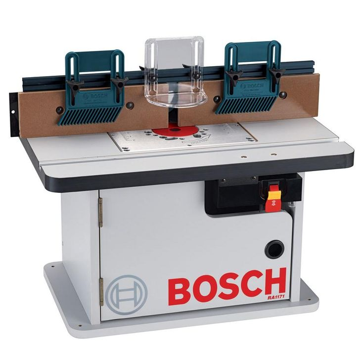 Bosch Laminated Router Table with Cabinet-RA1171 - The Home Depot