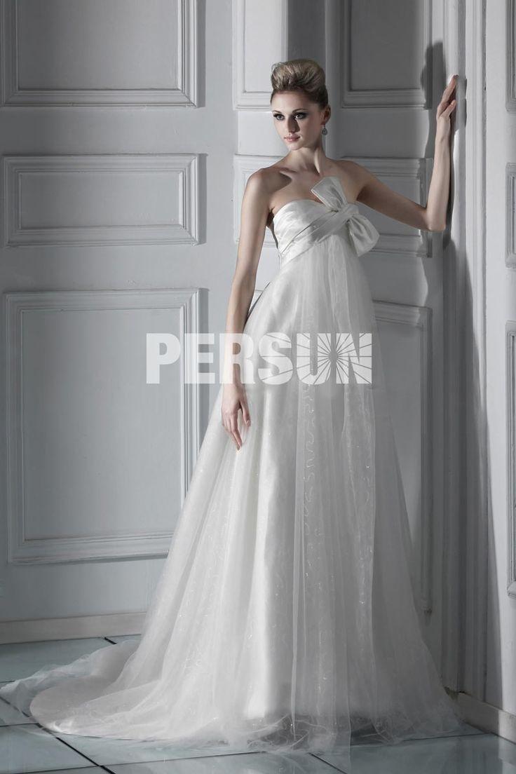 Sorprendente #Abito da #Sposa con Fiocco (3AA0420) - Persunit.com