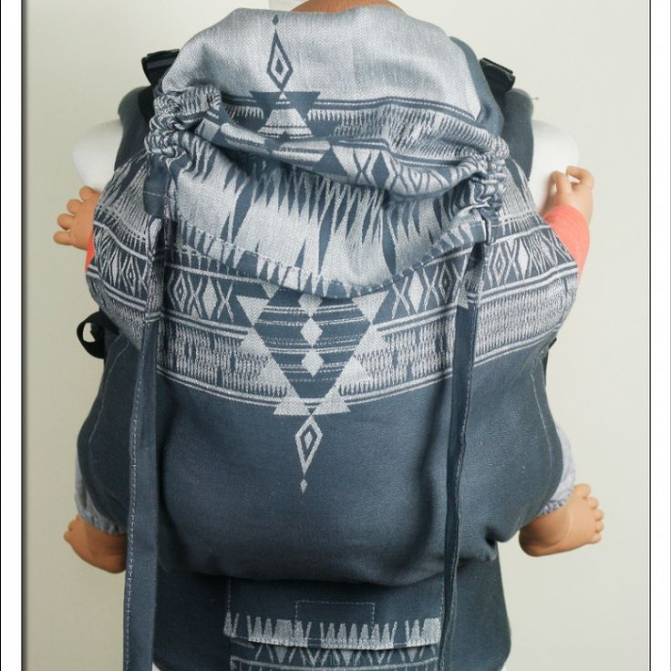 Soft Structured Carrier NatiGo Geo Art