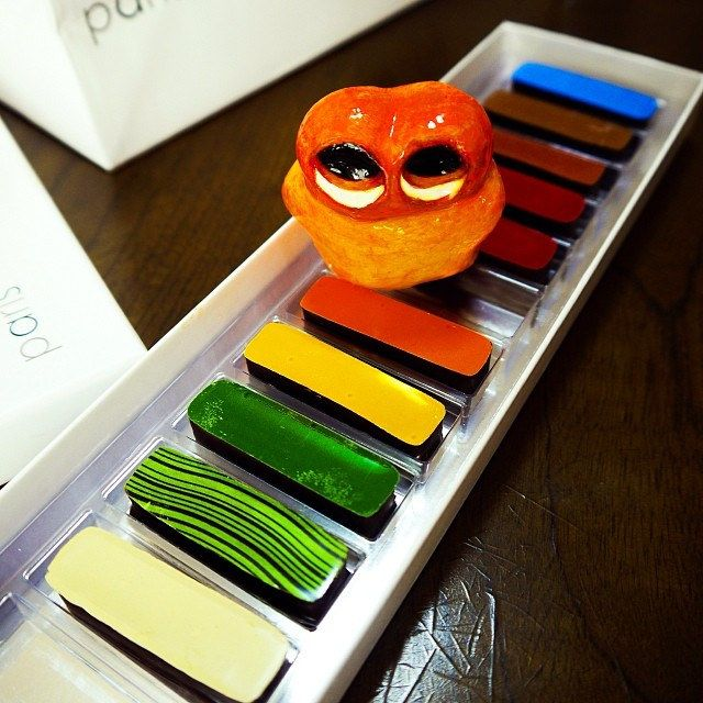 Yummy chocolate color palette! #mizumushikun #cool #chocolate #yummy #sweets #cute #color #vivid #fun