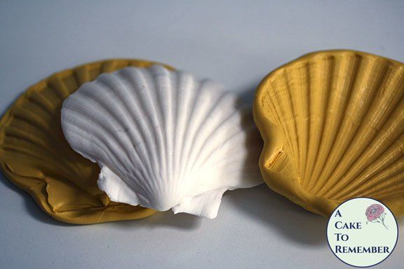 4 Clam Shell Silicone Mold And Press M40 Seashell Cake Clam Shell Silicone Molds