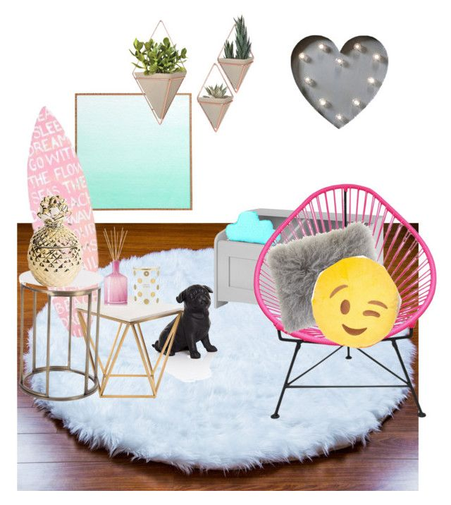 """Romo decor"" by valerie-sofia-delgado on Polyvore featuring interior, interiors, interior design, hogar, home decor, interior decorating, WALL, PBteen, Innit y Creative Co-op"