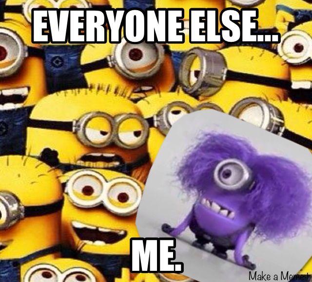 Purple Minion Memes Funny: 36 Best Minions Images On Pinterest