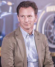 Christian Horner, OBE (* 16. November 1973 in Leamington Spa) ist ein ehemaliger britischer Automobilrennfahrer und heutiger Teamchef von Red Bull Racing.