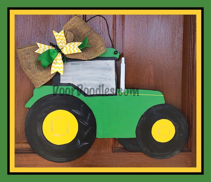 John Deere Tractor Cutouts : Best images about door doodles on pinterest front