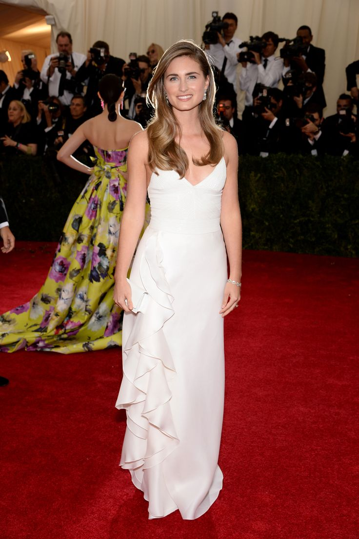 Lauren Bush in Ralph Lauren Collection - 2014 Met Gala