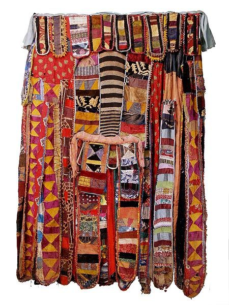 YORUBA EGUNGUN COSTUME / from the amazing Hamill Gallery site.