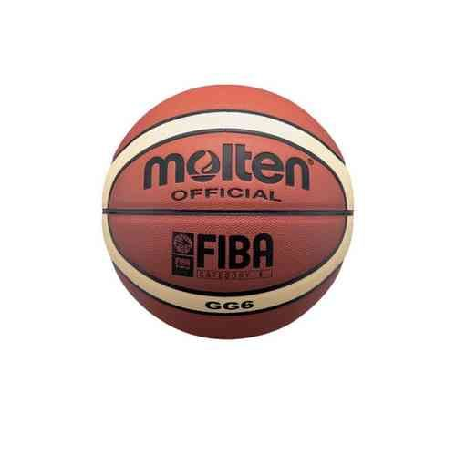 Balón Molten BGG6, balón oficial de la Federación española de Baloncesto de compuesto de poliuretano www.basketspirit.com/Molten